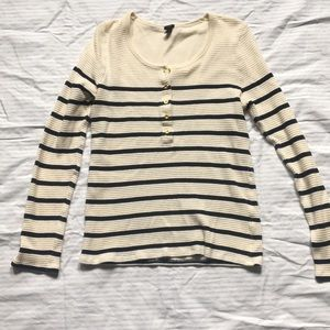 J.crew long sleeve thermal. Size large.